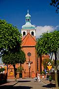 Jastarnia, 2008-06-21. Kościół p.w. Nawiedzenia Najświętszej Maryi Panny w Jastarni
