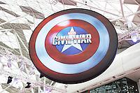 Captain America: Civil War - European film premiere, Westfield Shopping Centre, London UK, 26 April 2016, Photo by Richard Goldschmidt