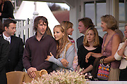 James Blunt and Camilla Boles. Cartier International Day at Guards Polo Club, Windsor Great Park. July 24, 2005. ONE TIME USE ONLY - DO NOT ARCHIVE  © Copyright Photograph by Dafydd Jones 66 Stockwell Park Rd. London SW9 0DA Tel 020 7733 0108 www.dafjones.com