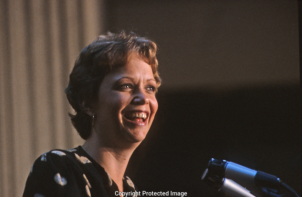 Maureen Reagan at the Republican Convention in 1980..Photograph by Dennis Brack bb 34
