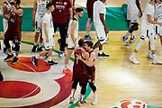 Esultanza Vittoria<br /> Umana Reyer Venezia - Happy Casa Brindisi<br /> LBA Final Eight 2020 Zurich Connect - Finale<br /> Basket Serie A LBA 2019/2020<br /> Pesaro, Italia - 16 February 2020<br /> Foto Mattia Ozbot / CiamilloCastoria