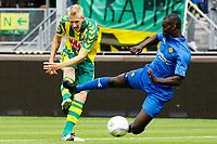 Fotball<br /> Nederland<br /> Foto: Proshots/Digitalsport<br /> NORWAY ONLY<br /> <br /> den haag, 15-08-2010, ado den haag - roda 1-3<br /> pa kah stort zich in de baan van het schot van lex immers