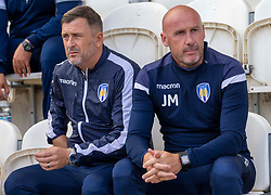 Colchester United manager John McGreal - Mandatory by-line: Phil Chaplin/JMP - 07/09/2019 - FOOTBALL - JobServe Community Stadium - Colchester, England - Colchester United v Walsall - Sky Bet League Two
