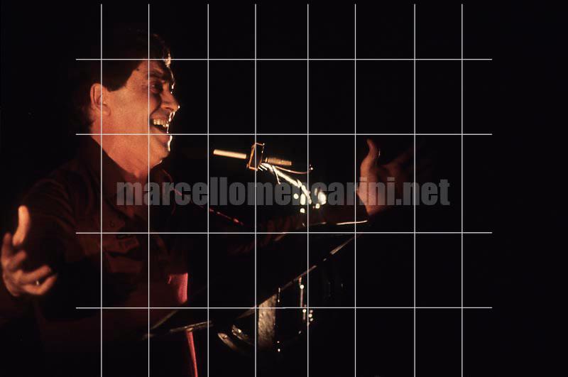 Rome, about 1981. Stage director and actor Carmelo Bene / Roma, 1981 circa. Carmelo Bene, attore e regista teatrale  - © Marcello Mencarini