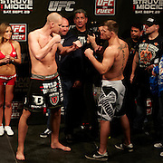 UFC on Fuel 5: Struve Vs Miocic Weigh Ins