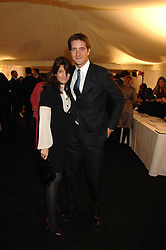 KRIS THYKIER and CLAUDIA WINKLEMAN at the Berkeley Square End of Summer Ball in aid of the Prince's Trust held in Berkeley Square, London on 27th September 2007.<br />