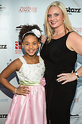 Actress and star of 'Black and White', Jillian Estell, on the red carpet during opening night of the 25th Anniversary New Orleans Film Festival; Opening night film is 'Black and White' directed by Mike Binder