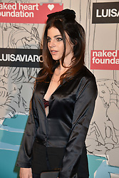 Julia Restoin-Roitfeld at the Fabulous Fund Fair in aid of Natalia Vodianova's Naked Heart Foundation in association with Luisaviaroma held at The Round House, Camden, London England. 18 February 2019.