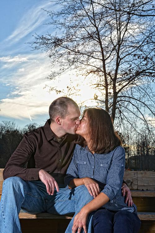 Scott and Anna Engagement | Duplin Winery Photographers