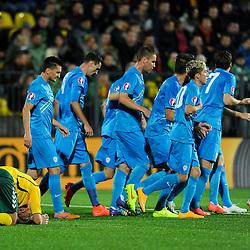 20141012: LTU, Football - UEFA EURO 2016 qualifying Group E, Lithuania vs Slovenia