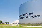 Entrance to the National Museum of the United States Air Force