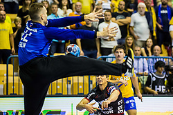 Steinhauser Marius of SG Flensburg-Handewitt during handball match between RK Celje Pivovarna Lasko (SLO) and SG Flensburg Handewitt (GER) in 3rd Round of EHF Men's Champions League 2018/19, on September 30, 2018 in Arena Zlatorog, Celje, Slovenia. Photo by Grega Valancic / Sportida