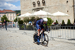 Mieke Kröger (GER) at Lotto Thüringen Ladies Tour 2019 - Stage 5, a 17.9 km individual time trial in Meiningen, Germany on June 1, 2019. Photo by Sean Robinson/velofocus.com