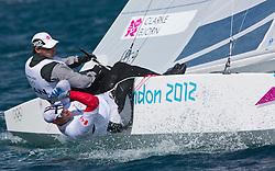 StarCANClarke Richard, Bjorn Tyler<br /> <br /> 2012 Olympic Games <br /> London / Weymouth