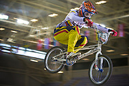 #278 (RAMIREZ YEPES Carlos Alberto) COL at the 2014 UCI BMX Supercross World Cup in Manchester.