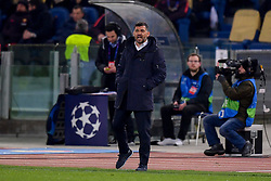 12.02.2019, Stadio Olimpico, Rom, ITA, UEFA CL, AS Roma vs FC Porto, Achtelfinale, Hinspiel, im Bild Sergio Conceicao // Sergio Conceicao during the UEFA Champions League round of 16, 1st leg match between AS Roma and FC Porto at the Stadio Olimpico in Rom, Italy on 2019/02/12. EXPA Pictures © 2019, PhotoCredit: EXPA/ laPresse/ Fabio Rossi/AS Roma<br /> LaP<br /> <br /> *****ATTENTION - for AUT, SUI, CRO, SLO only*****