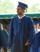 Gilford High School graduation June 11, 2011.
