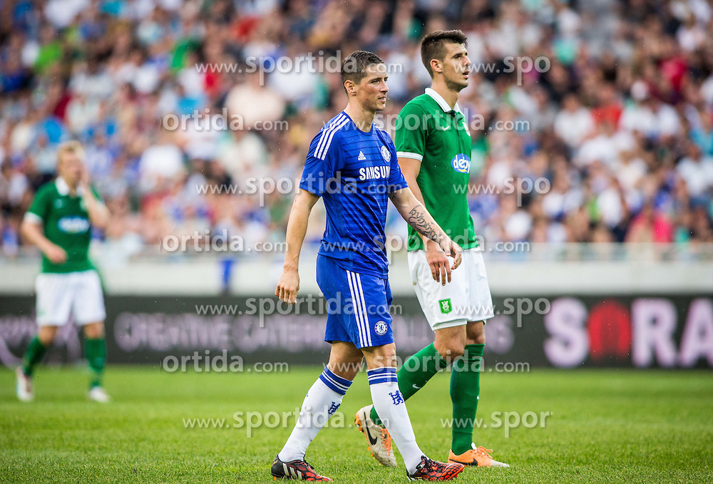 during Preseason friendly football match between NK Olimpija Ljubljana and Chelsea FC (ENG), on July 27, 2014 in SRC Stozice, Ljubljana, Slovenia. Photo by Vid Ponikvar / Sportida.com