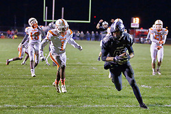 2 November 2018: Palos Heights Shepard Astros at Normal West Wildcats 2nd Round IHSA football playoffs, Normal Illinois<br /> <br /> #bestlookmagazine #alphoto513 #IHSA #IHSAFootball  #NCWHS_GIC   NCWHS_Football