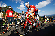 Bauke Mollema (NED, Trek Segafredo) during the 73th Edition of the 2018 Tour of Spain, Vuelta Espana 2018, Stage 13 cycling race, Candas Carreno - La Camperona 174,8 km on September 7, 2018 in Spain - Photo Luca Bettini / BettiniPhoto / ProSportsImages / DPPI