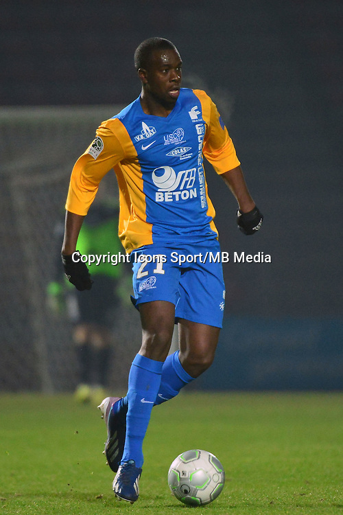 Bamba DIARRASSOUBA - 23.01.2015 - Creteil / Laval - 21eme journee de Ligue 2<br /> Photo : Dave Winter / Icon Sport