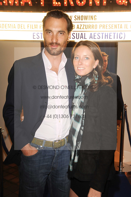 The MARCHESA & MARCHESSA FERRERO DE GUBERNATIS VENTIMIGLIA at the Launch of Peroni Nastro Azzurro Accademia del Film Wrap Party Tour held atThe Boiler House, 152 Brick Lane, London E1 on 25th August 2010.