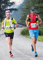 23.07.2016, Kals, AUT, Grossglockner Ultra Trail 2016, im Bild Kröll Markus und Stock Markus beide (AUT) // during the 2016 Grossglockner Ultra Trail. Kals, Austria on 2016/07/23. EXPA Pictures © 2015, PhotoCredit: EXPA/ Johann Groder