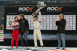 28.11.2010, Esprit Arena, Düsseldorf, GER, Race of Champions, im Bild Sebastien Loeb (FRA, 7-Time World Rallye Champion) und Filipe Albuquerque (POR, Red Bull Junior of the Year 2006), EXPA Pictures © 2010, PhotoCredit: EXPA/ A. Neis