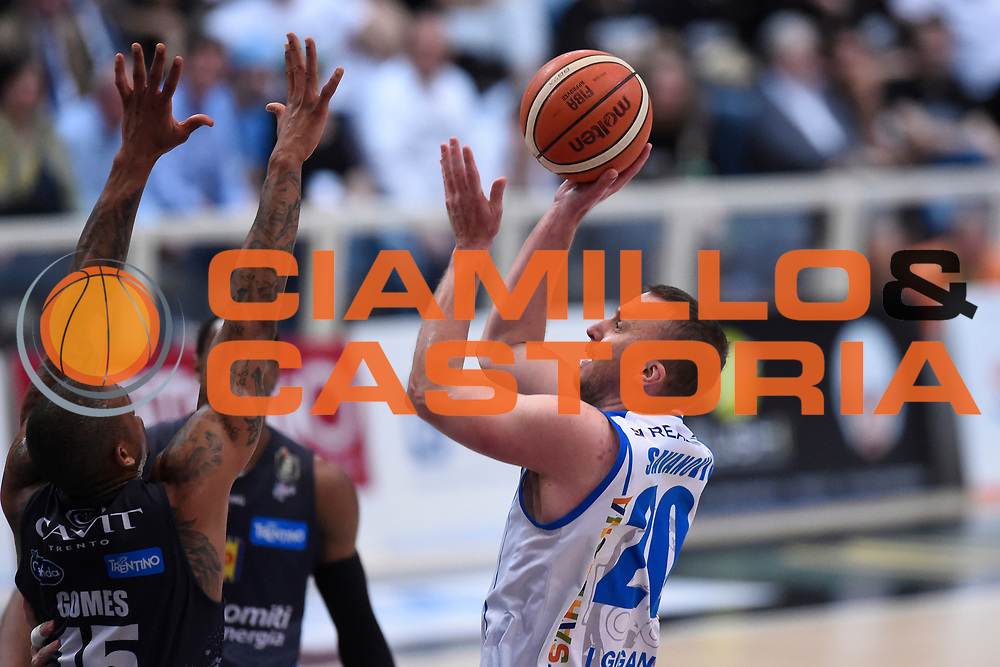 Savanovic Dusko <br /> Quarti di Finale Gara 2<br /> Legabasket A 2016,2017<br /> Trento 14,05,2017<br /> Foto Ciamillo-Castoria,GiulioCiamillo