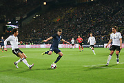 Adam Lallana of England shoots at goal during the International Friendly match between Germany and England at Signal Iduna Park, Dortmund, Germany on 22 March 2017. Photo by Phil Duncan.