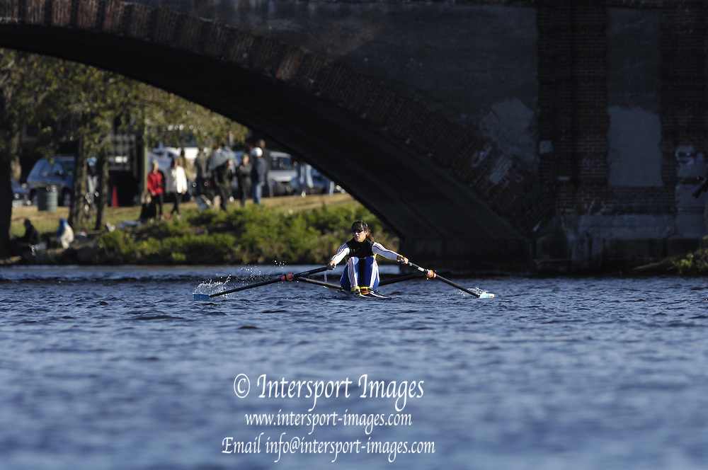 Boston, Massachusetts,  Fri afternoon, 21/10/2006,   2006 Head of the Charles,  Photo  Peter Spurrier/Intersport Images...[Mandatory Credit, Peter Spurier/ Intersport Images] Rowing Course; Charles River. Boston. USA