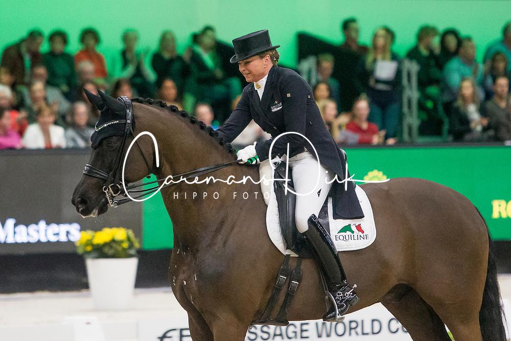 Schneider Dorothee, GER, Sammy Davis Jr<br /> FEI Dressage World Cup™ Grand Prix presented by RS2 Dressage - The Dutch Masters<br /> © Hippo Foto - Sharon Vandeput<br /> 14/03/19