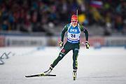 &Ouml;STERSUND, SVERIGE - 2017-12-03: Denise Herrmann under damernas jaktstart t&auml;vling under IBU World Cup Skidskytte p&aring; &Ouml;stersunds Skidstadion den 1 december 2017 i &Ouml;stersund, Sverige.<br /> Foto: Johan Axelsson/Ombrello<br /> ***BETALBILD***