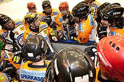 08.12.2010, UPC Arena, Graz, AUT, Benefizspiel, Moser Medical Graz 99ers, im Bild Teambesprechung, EXPA Pictures © 2010, PhotoCredit: EXPA/ Erwin Scheriau