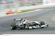 Grand Prix de Corée de Formule un..YEONGAM 22/10/10 ..2er séance d'essai...Photo Stéphane Mantey/L 'Equipe. *** Local Caption *** schumacher (michael) - (ger) -