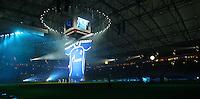Fussball Internationales Freundschaftsspiel    Testspiel           FC Schalke 04 - Zenit Sankt Petersburg Praesentation des Trikot mit dem neuen Sponsor Gazprom.