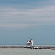 Lorain West Breakwater Lighthouse