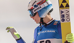 06.12.2015, Lysgards Schanze, NOR, FIS Weltcup Ski Sprung, Lillehammer, Herren, im Bild Johann Andre Forfang (NOR) // Johann Andre Forfang of Norway reacts after 2nd Jump of Mens Skijumping Competition of FIS Skijumping World Cup at the Lysgards Hill, Lillehammer, Norway on 2015/12/06. EXPA Pictures © 2015, PhotoCredit: EXPA/ JFK