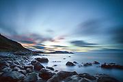 The blue hour, landscape from Hidsneset, Norway | Den blå time, landskapsbilde fra Hidsneset, Norge.