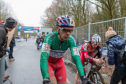 Marco Aurelio Fontana (ITA), Men Elite, Cyclo-cross World Cup Hoogerheide, The Netherlands, 25 January 2015, Photo by Pim Nijland / PelotonPhotos.com