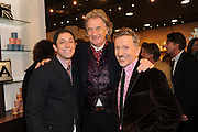 JONATHAN ADLER; SIR PAUL SMITH; SIMON DOONAN;, Jonathan Adler Store opening. Sloane St. London. 16 November 2011. <br /> <br />  , -DO NOT ARCHIVE-© Copyright Photograph by Dafydd Jones. 248 Clapham Rd. London SW9 0PZ. Tel 0207 820 0771. www.dafjones.com.
