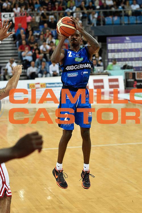 Moore Lee<br /> Consultinvest Pesaro - Germani Basket Brescia<br /> BASKET Serie A 2016 <br /> Pesaro 02/10/2016 <br /> FOTO CIAMILLO