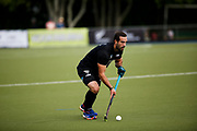 Dane Lett of the Black Sticks at the final game of the Black Sticks v Canada Test Matches 21 October 2018. Copyright photo: Alisha Lovrich / www.photosport.nz