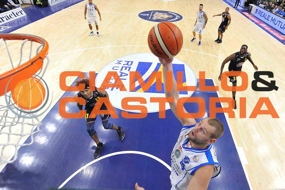 SASSARI 27 DICEMBRE 2016<br /> LegaBasket Serie A 2016/2017<br /> Dinamo Banco di Sardegna Sassari - Fiat Auxilium Torino<br /> NELLA FOTO Tautvydas Lydeka<br /> FOTO CIAMILLO