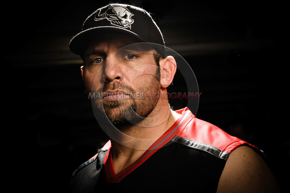 "A portrait of mixed martial arts athlete Shane ""The Engineer"" Carwin"