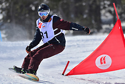Europa Cup Finals Banked Slalom, SCHETT Reinhold, AUT at the 2016 IPC Snowboard Europa Cup Finals and World Cup