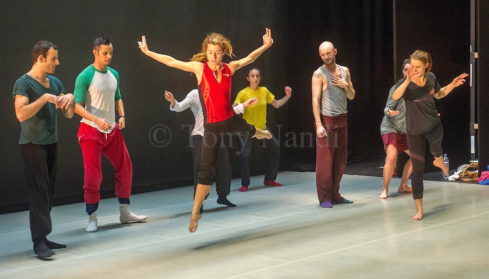 Class at Linbury Studio Theatre, Royal Opera House, October 2012