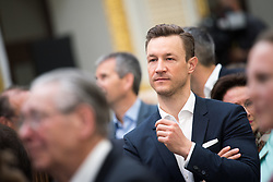 04.05.2019, Sofiensäle, Wien, AUT, ÖVP, Wahlkampfauftakt zur EU-Wahl. im Bild Kanzleramtsminister Gernot Blümel (ÖVP) // Austrian minister of chancellary Gernot Bluemel during campaign opening regarding to Eurpean Parliment Elections of the Austrian People' s Party in Vienna, Austria on 2019/05/04. EXPA Pictures © 2019, PhotoCredit: EXPA/ Michael Gruber