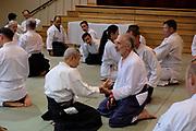 Suganuma Sensei teache's classes in Vancouver