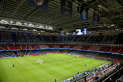 CARDIFF, WALES - Friday, June 2, 2017: The roof is closed as Real Madrid during a training session ahead of the UEFA Champions League Final between Juventus FC and Real Madrid CF at the Stadium of Wales. (Pic by David Rawcliffe/Propaganda)